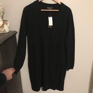 Banana Republic Black Sweater Dress